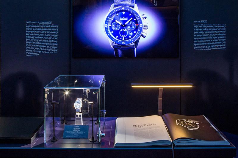 Выставка Blancpain Ocean Commitment иллюстрирует достижения в области защиты Мирового океана