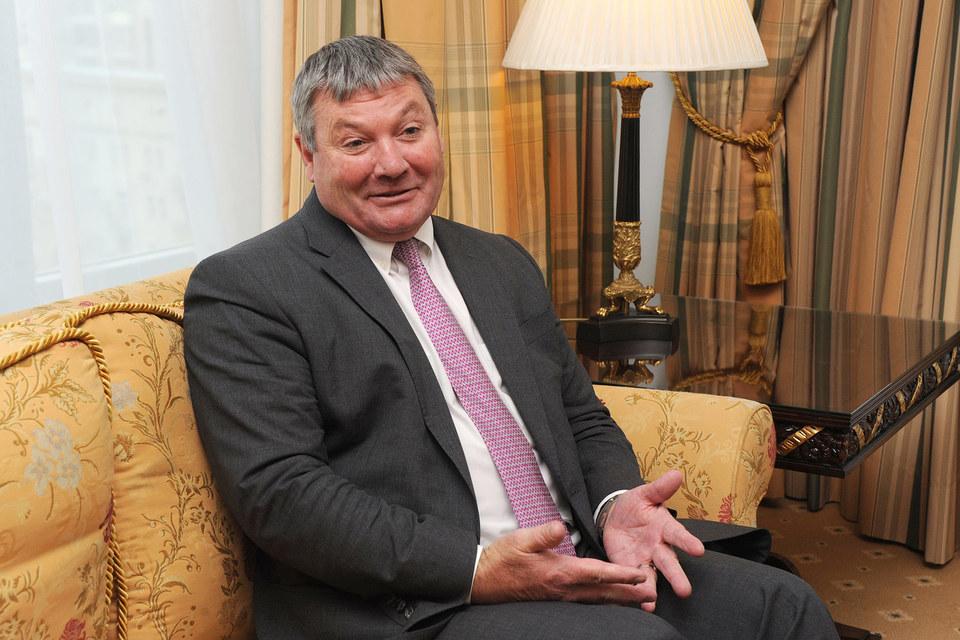 Генеральный директор Kinross Gold Пол Ролинсон