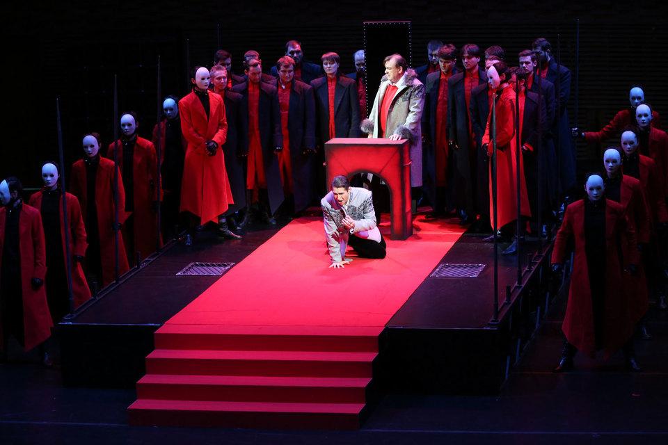 Эпоха Ивана Грозного предстает на сцене родом карнавала