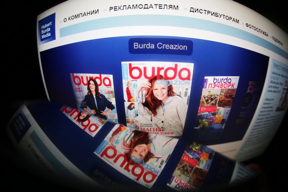 Издательский дом Burda издает в России более 80 периодических изданий