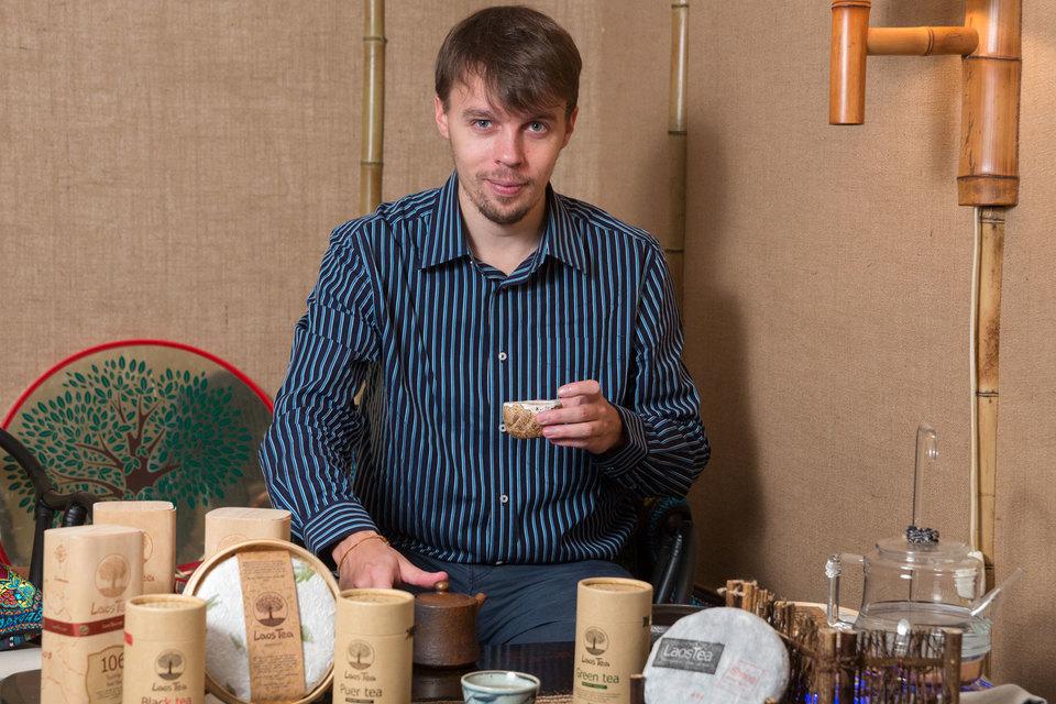 Александр Жиряков увлекается чаем со студенческих лет