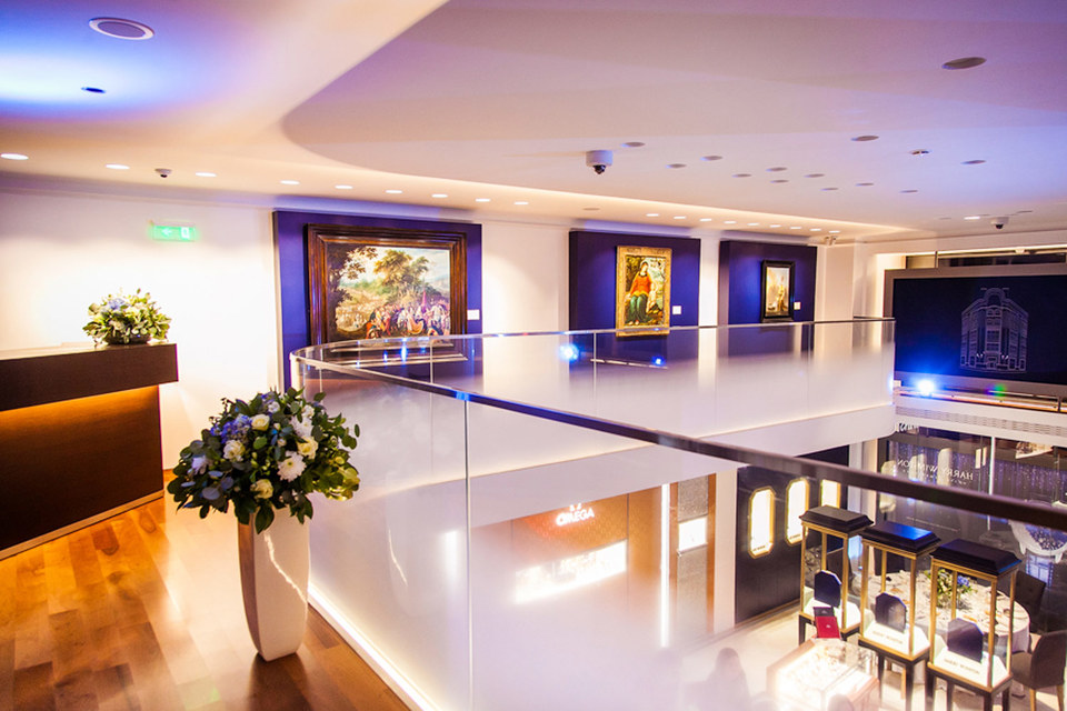 Предпродажная выставка аукционных лотов Christie's пройдет в  бутике Tourbillon с 12 до 15 ноября