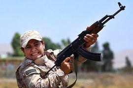 Пешмерге удалось захватить участки шоссе Мосул – Ракка
