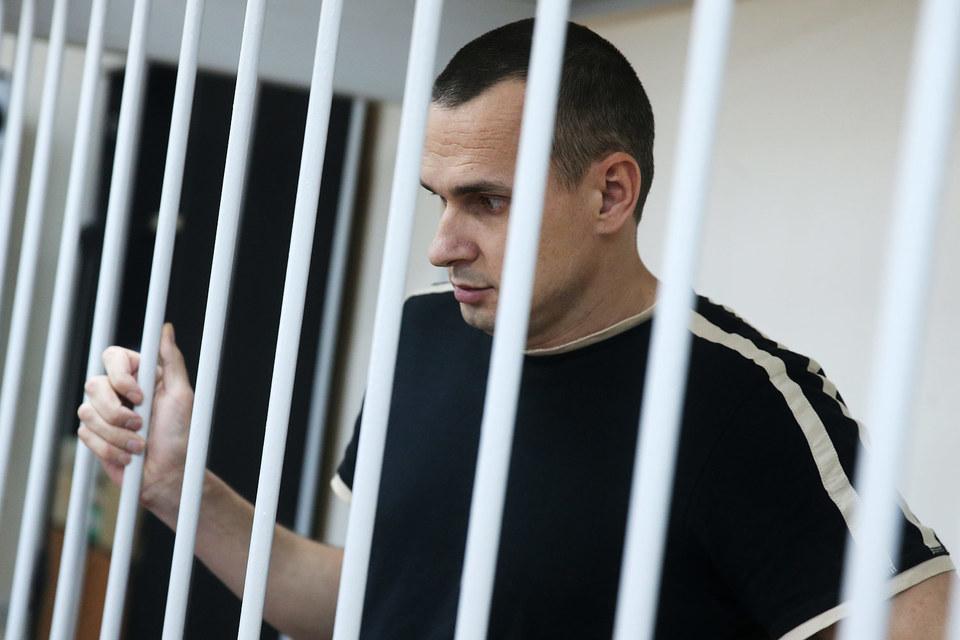 Олега Сенцова судили в августе этого года по делу о терроризме
