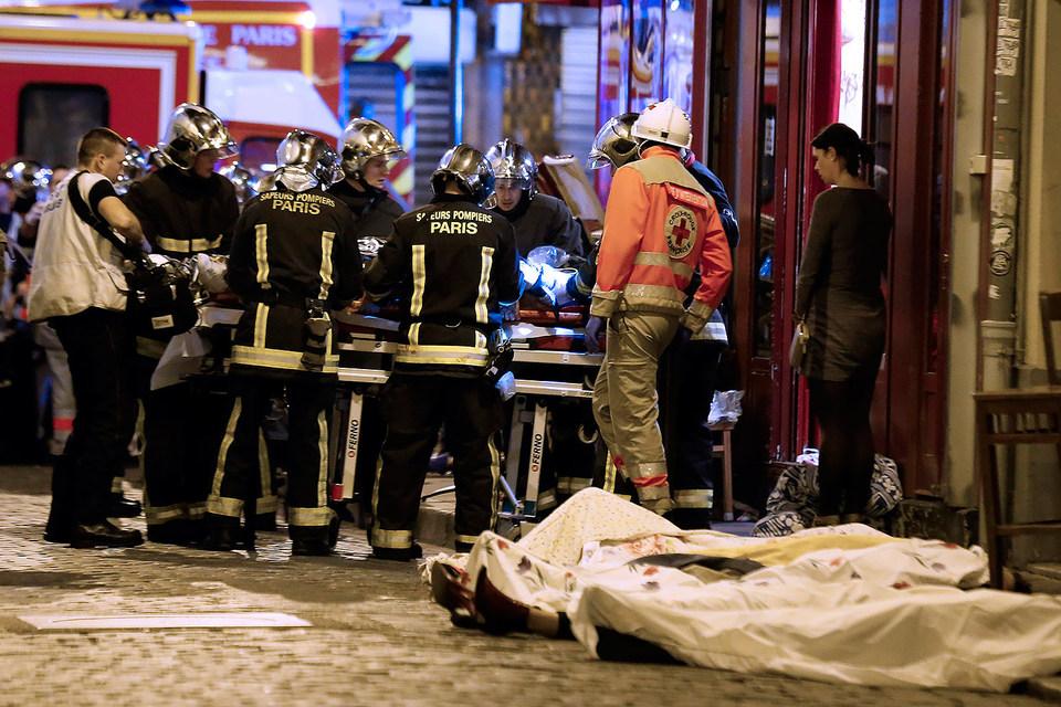 В ночь на 14 ноября в Париже произошла серия терактов
