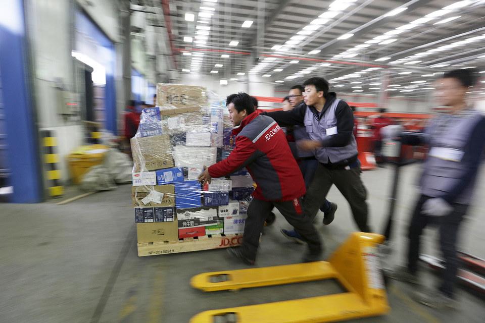 Alibaba Group и JD.com в День холостяка побили собственные рекорды продаж