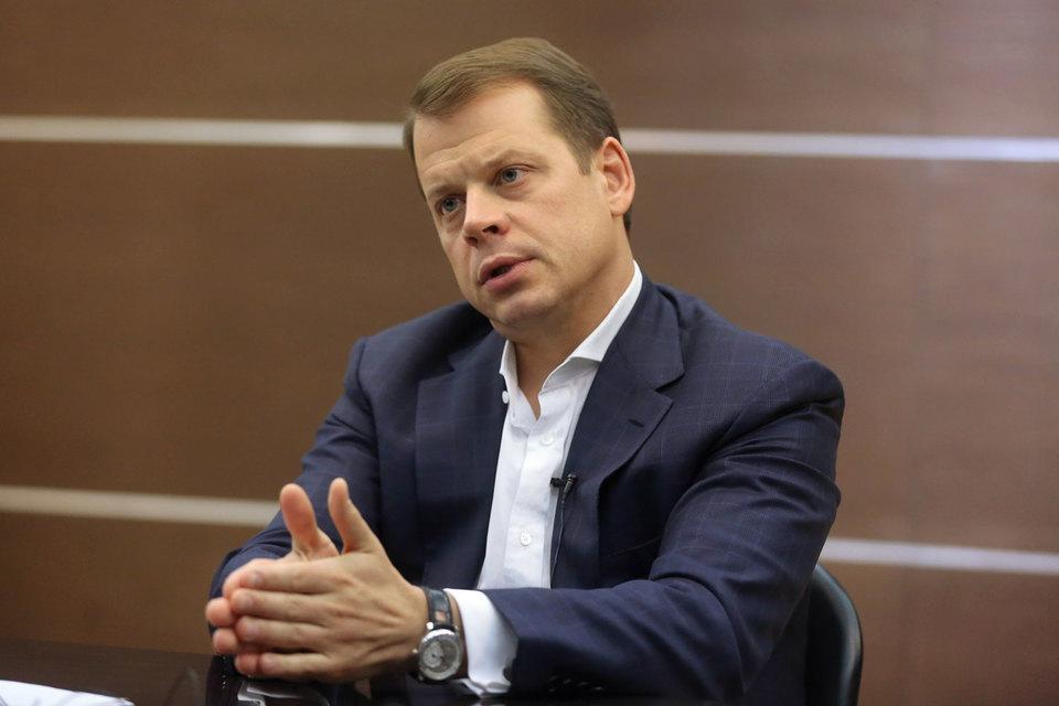Председатель советов директоров «СМП банка» и Мособлбанка Артем Оболенский