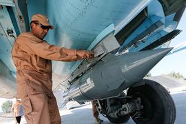 Россия усилила авиаудары по позициям террористов в Сирии