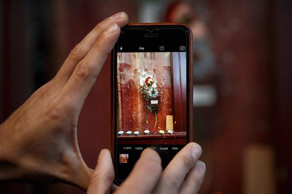 Социальные сети ответили на теракт
