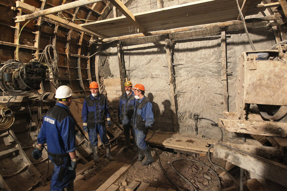 Московский институт претендует на работы в петербургском метро