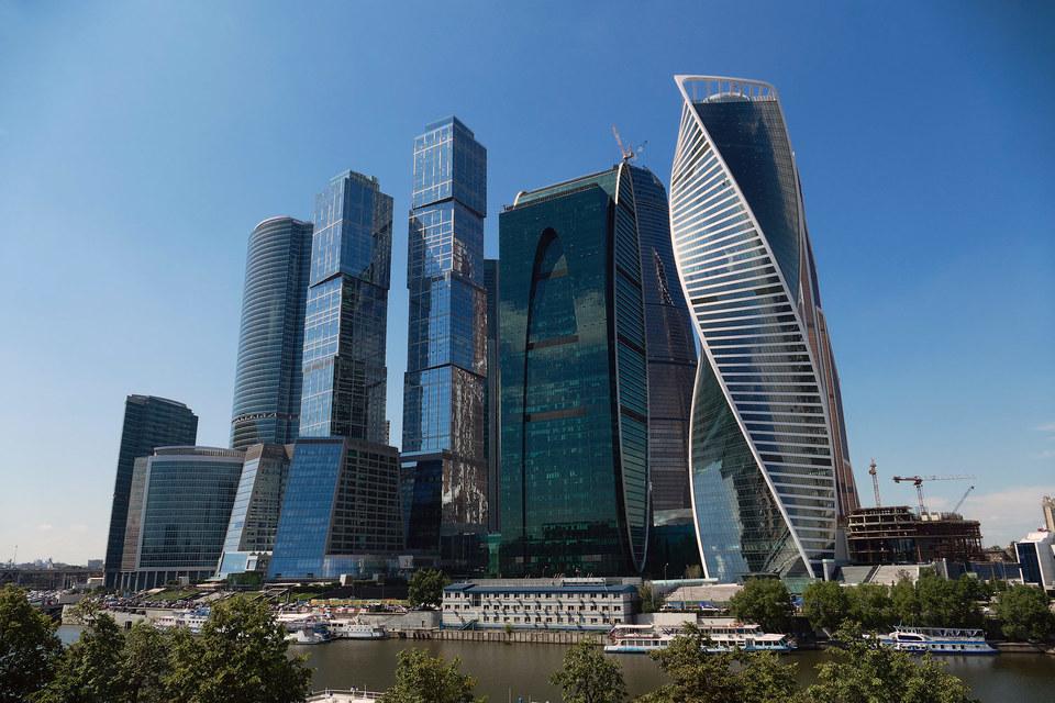 Больше четверти офисных площадей  в «Москва-сити» пустует