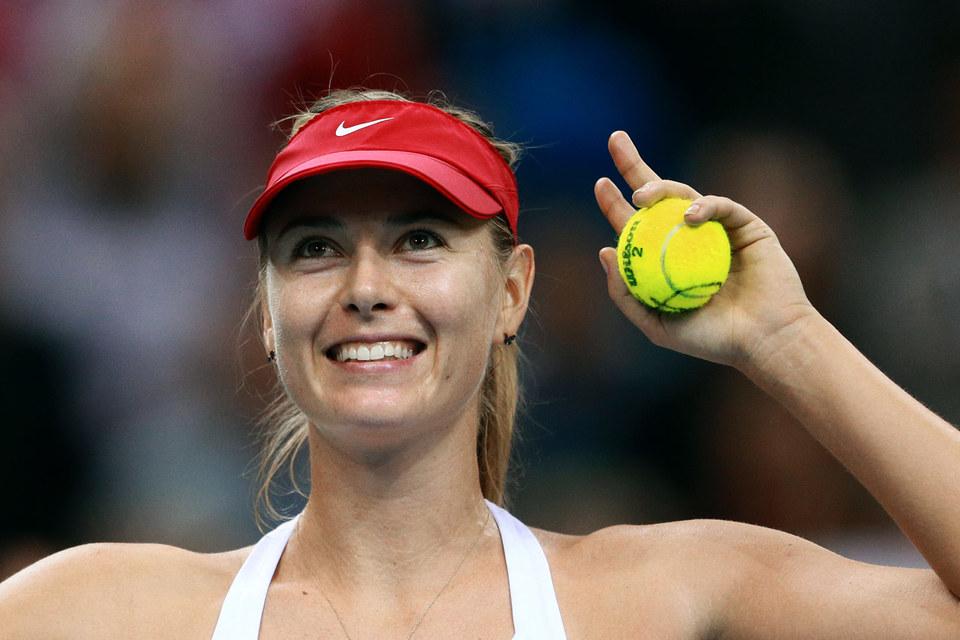 Профессиональная теннисистка Мария Шарапова