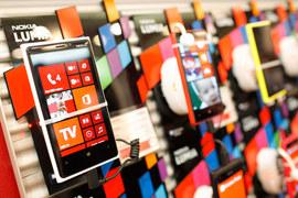 Доля смартфонов с операционной системой Windows растет