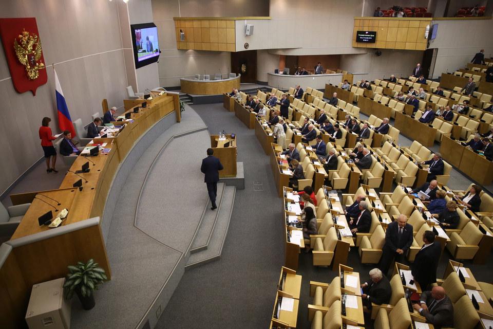 Для российского парламента характерна ситуация, когда им непонятно, о чем с ними будут говорить