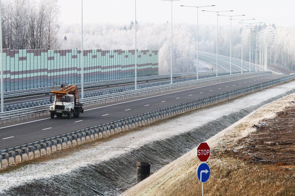 «Автодору» придется спешить, чтобы полностью запустить трассу Москва – Петербург до ЧМ-2018