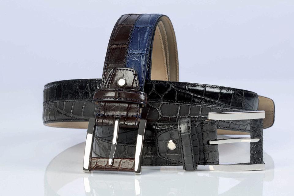 Модели из кожи аллигатора представлены в каждом сезоне в лимитированной коллекции JMIcon by Johnny Manglani