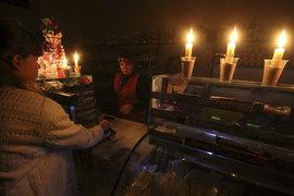 В Республике Крым обесточено 1,386 млн человек, 300 социально значимых объектов, в Севастополе – 270 000 жителей