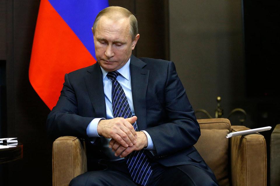 """""""Это удар, который России нанесли в спину пособники террористов"""", - заявил Путин"""