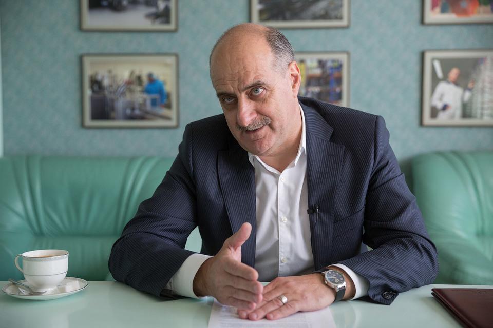 Президент компании «Протек»  Вадим Музяев