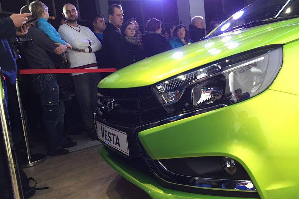 Стартовали продажи Lada Vesta
