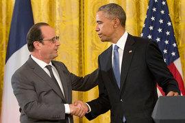 Обама и Олланд договорились объединить усилия в борьбе против ИГ