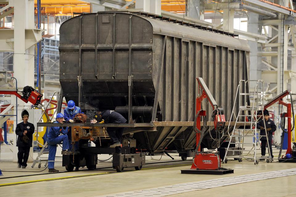 ОВК наращивает производство вагонов