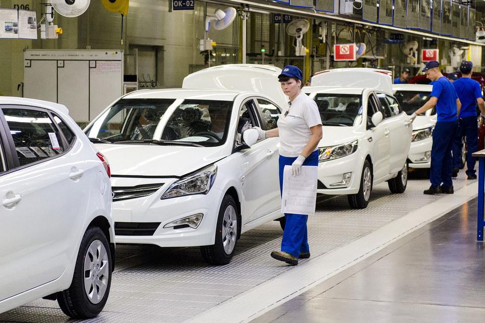 За январь – октябрь Hyundai выпустила 186 800 автомобилей