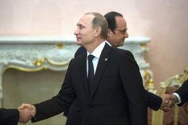 Владимир Путин и Франсуа Олланд должны договориться о продолжении сотрудничества