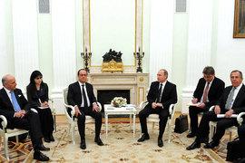 Визит Франсуа Олланда в Москву – лишь начальная стадия взаимодействия России и Франции в борьбе с «Исламским государством», считают эксперты