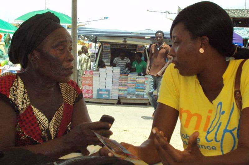 MFS Africa не требует владеть продвинутым смартфоном. Все, что нужно, – завести счет у своего оператора