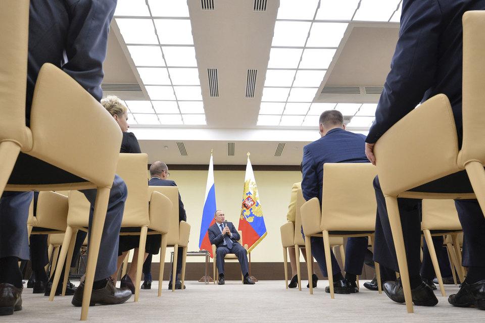 Владимир Путин нашел для «фронтовиков» место в вертикали власти