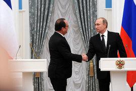 Российско-французское военное сотрудничество в Сирии будет более существенным, чем ожидалось ранее