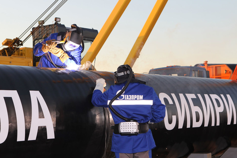 """Первый тендер по выбору подрядчика для строительства второго участка газопровода «Сила Сибири» """"Газпром"""" объявил в августе"""