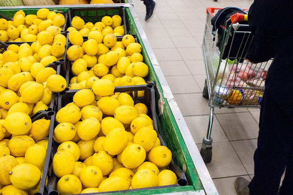 38% всех импортных лимонов – из Турции