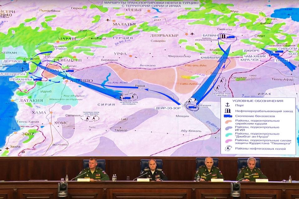 Кадр из видео, которое было опубликовано Минобороны России