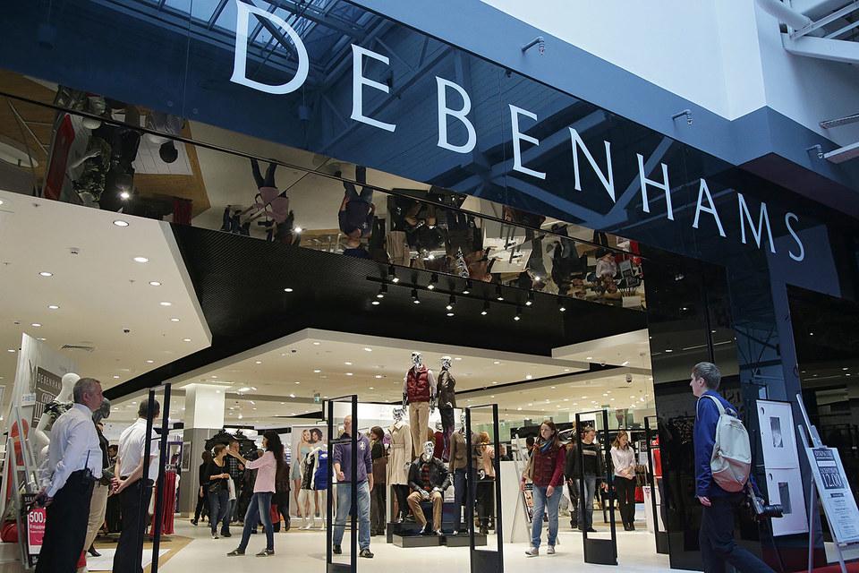 Московский магазин Debenhams