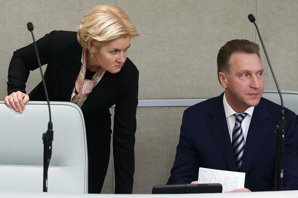 Вице-премьеру Ольге Голодец, возможно, предстоит поделиться полномочиями с курирующим экономический блок первым вице-премьером Игорем Шуваловым