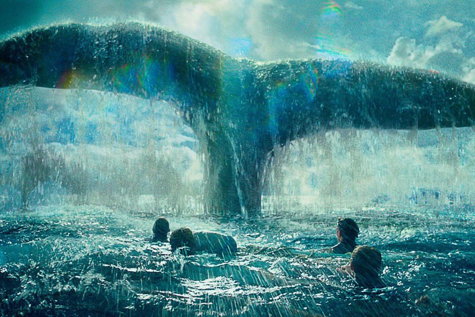 Самые выразительные кадры фильма напоминают об иллюстрациях Рокуэлла Кента к роману «Моби Дик»