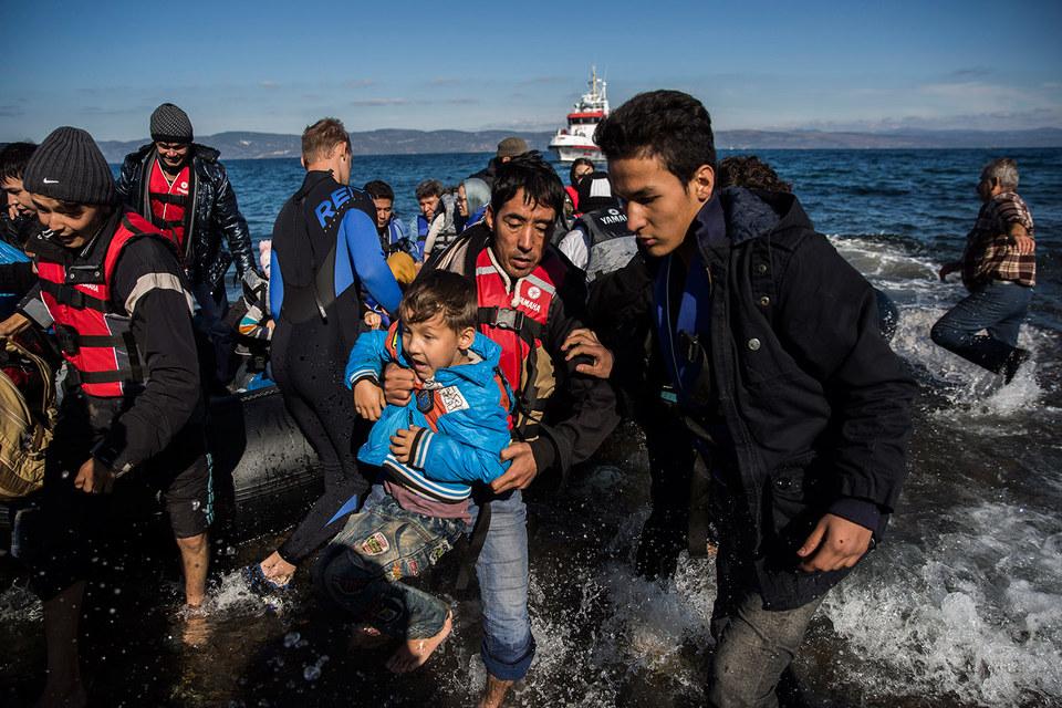 В этом году более 700 000 мигрантов пересекли греческие границы