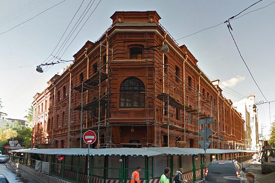 Жилой дом в Большом Палашевском переулке был построен в 1870 г.