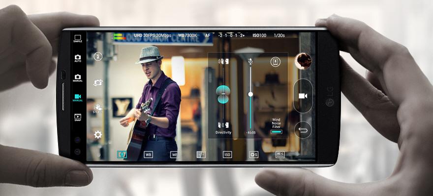 Ручной режим видеосъемки включает в себя настройки цветокоррекции, светочувствительности, фокусировки и других параметров, в том числе регулировку записи звука