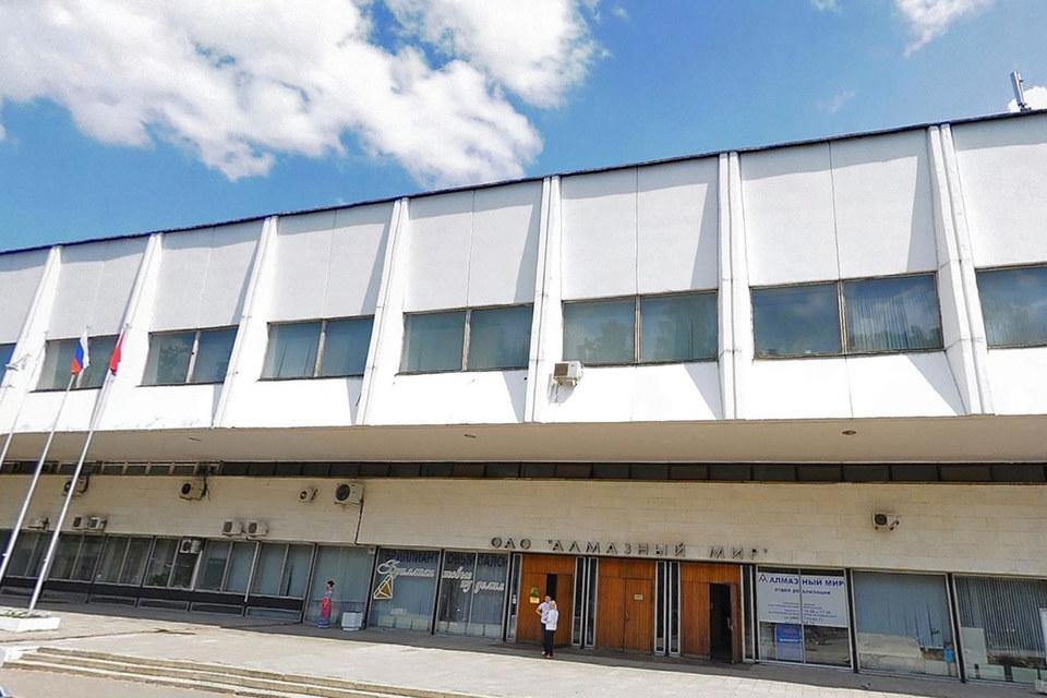Единственный актив «Алмазного мира» – это здание советской постройки и прилегающая территория на ул. Смольной, 12