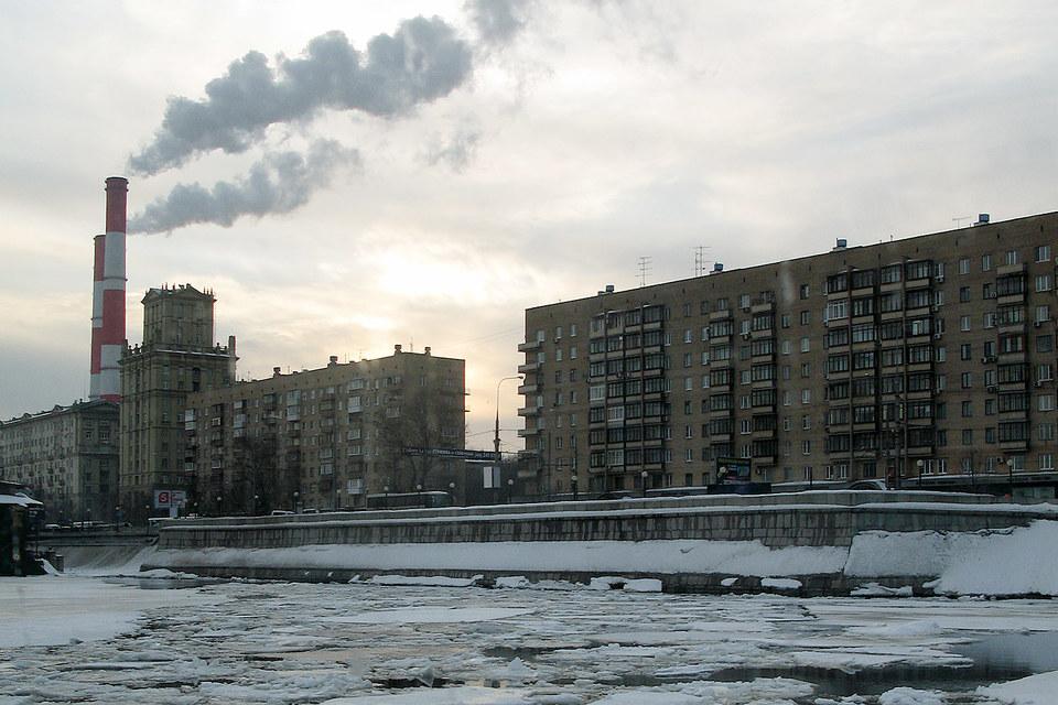 Протяженность Москвы-реки  в черте города – 83 км