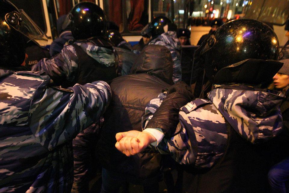 Ильдар Дадин был задержан во время акции на Манежной площади
