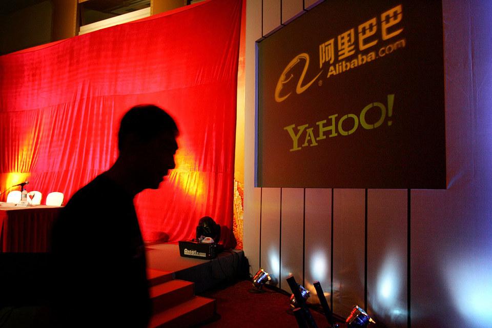 Yahoo останется  с Alibaba