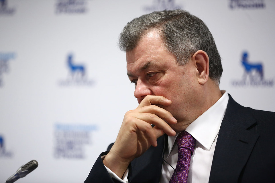 Тройку лидеров покинули губернаторы Калужской и Белгородской областей Анатолий Артамонов (на фото) и Евгений Савченко
