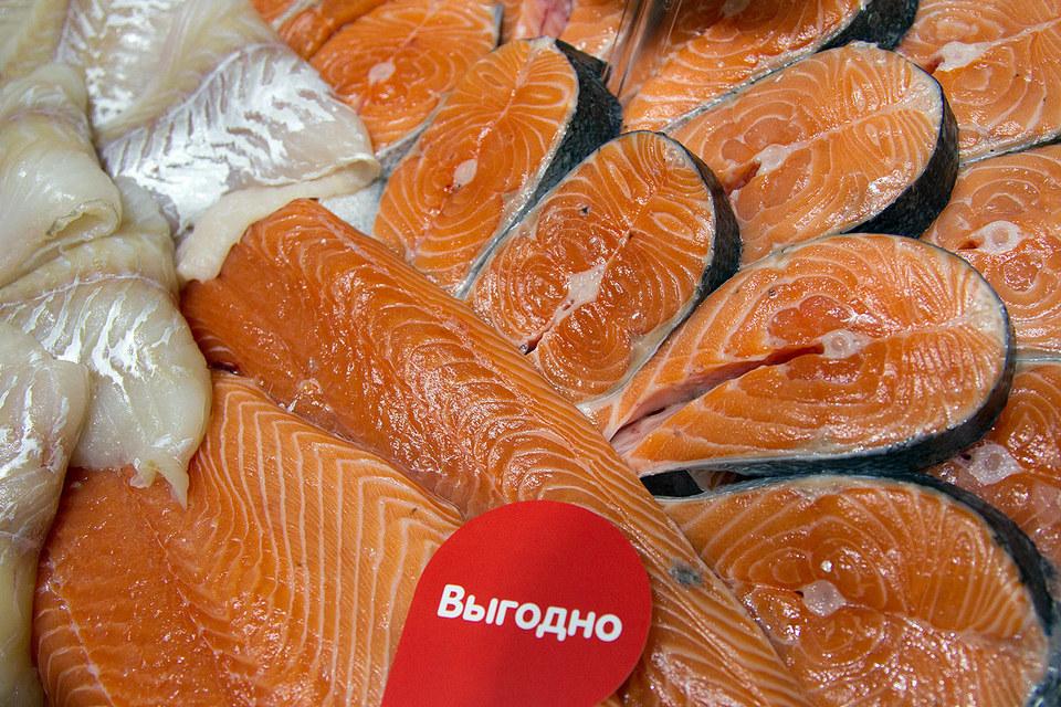 После введения продэмбарго импорт рыбы в Россию сократился в 2 раза
