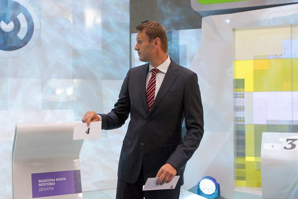 В дебатах на выборах мэра Москвы в 2013 г. Алексей Навальный успел поучаствовать в качестве кандидата