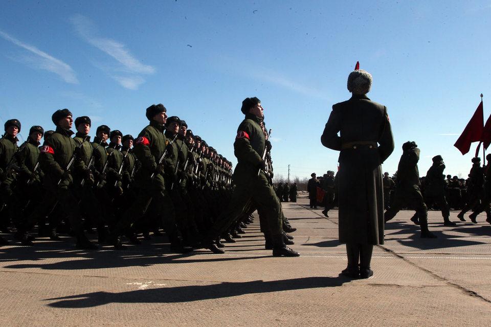 Штатная численность Вооруженных сил с момента реформ 2009 г. была сокращена