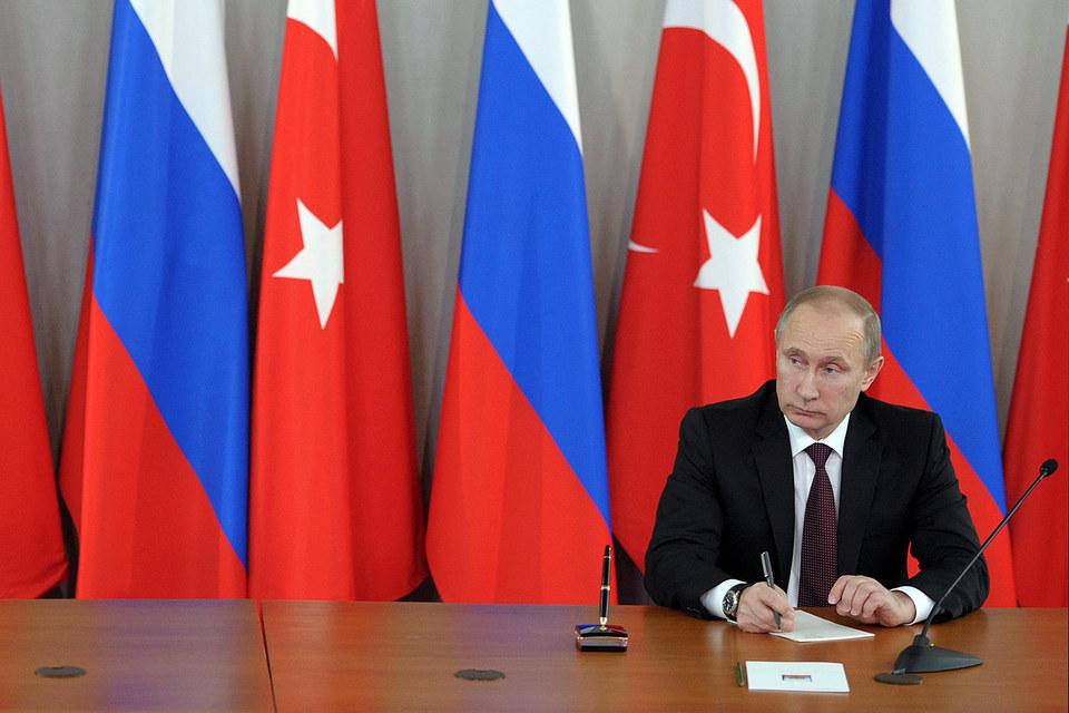 Встреча президентов России и Турции Владимира Путина и Реджепа Тайипа Эрдогана намечалась на середину декабря